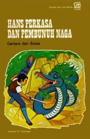 Cover Hans Perkasa Pembunuh Naga oleh Antonius Adiwiyoto