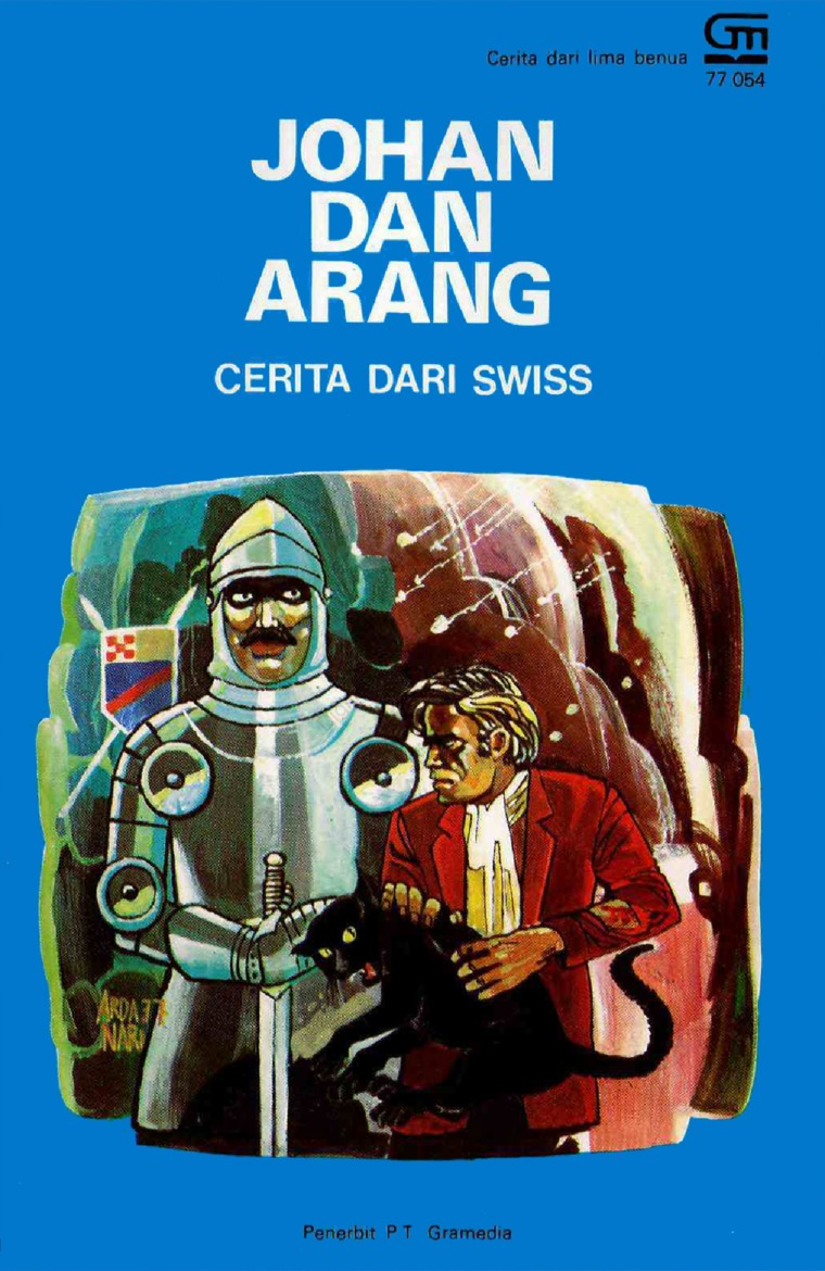 Johan dan Arang by Antonius Adiwiyoto Digital Book