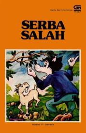 Cover Serba Salah oleh Antonius Adiwiyoto