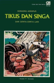 Tikus dan Singa by Antonius Adiwiyoto Cover