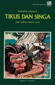 Cover Tikus dan Singa oleh Antonius Adiwiyoto
