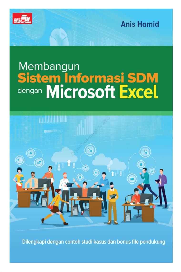 Buku Digital Membangun Sistem Informasi SDM dengan Microsoft Excel oleh Anis Hamid