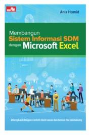 Membangun Sistem Informasi SDM dengan Microsoft Excel by Anis Hamid Cover
