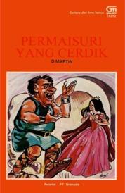Permaisuri yang Cerdik by D. Martin Cover