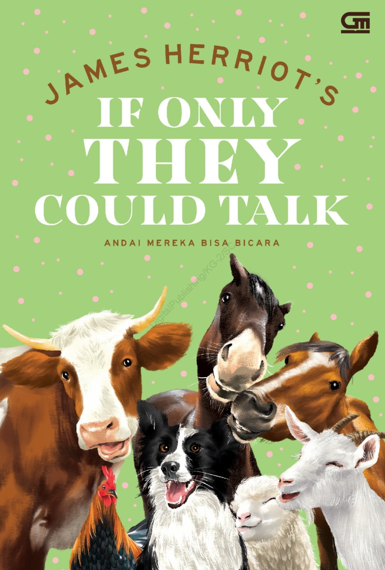 Buku Digital Andai Mereka Bisa Bicara (If Only they Could Talk) oleh James Herriot