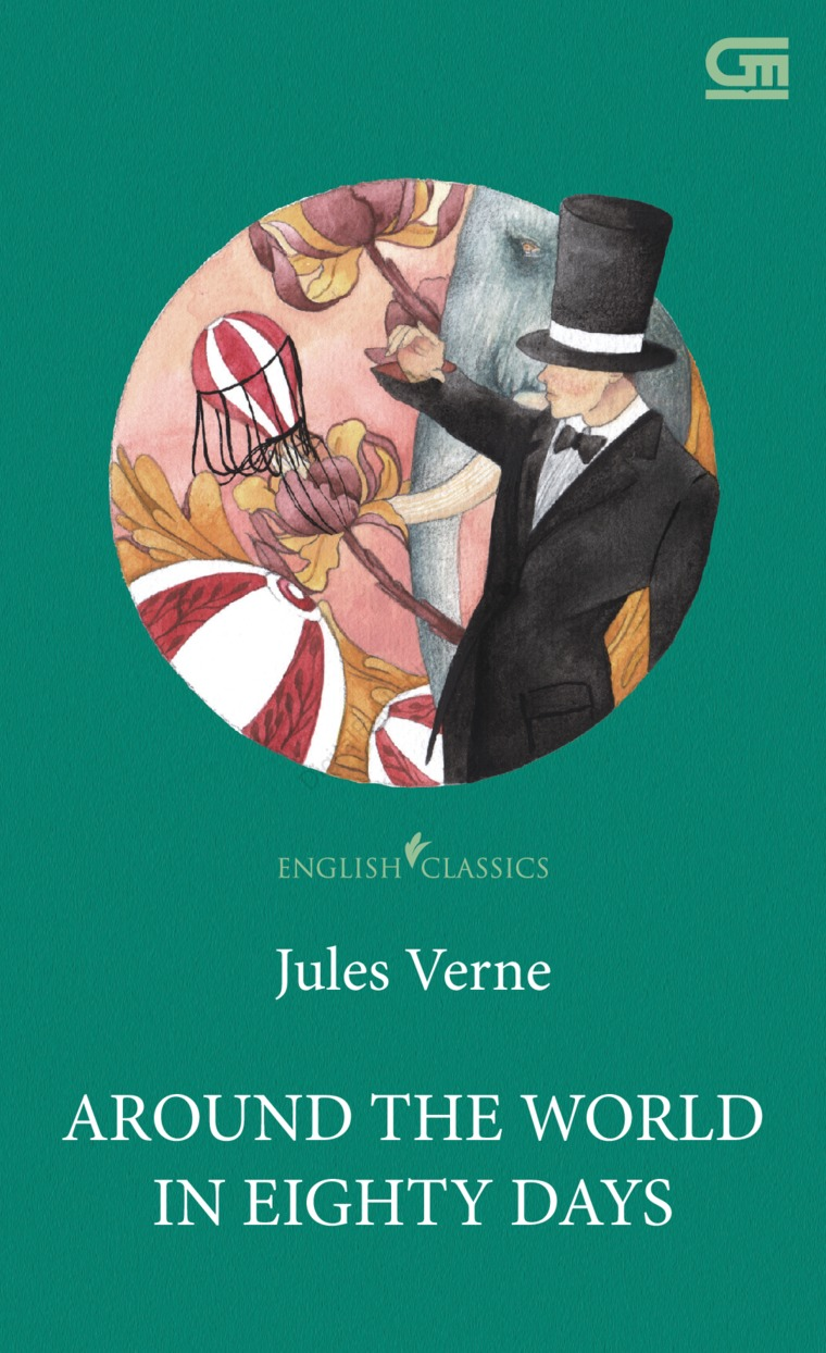 Buku Digital English Classics: Around the World in Eighty Days oleh Jules Verne