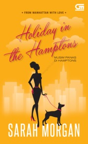 Harlequin: Musim Panas di Hamptons (Holiday in the Hamptons) by Sarah Morgan Cover