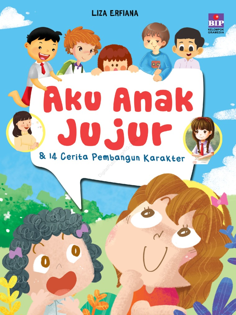 Buku Digital Aku Anak Jujur & 14 Cerita Pembangun Karakter oleh Liza Erfiana