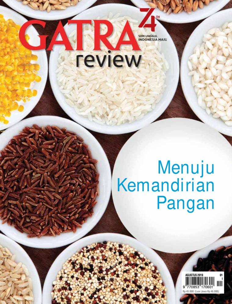 Majalah Digital GATRA REVIEW ED 01 Agustus 2019