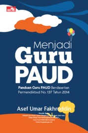 Cover Menjadi Guru Paud oleh Asef Umar Fakhruddin