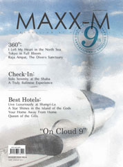 MAXX-M Magazine Cover June–August 2012