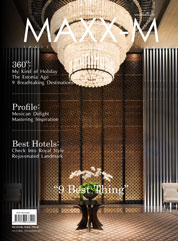 MAXX-M Magazine Cover October–November 2012