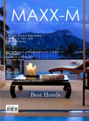 MAXX-M Magazine Cover May–June 2013