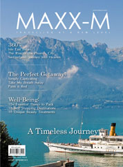 MAXX-M Magazine Cover August–September 2013