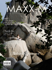MAXX-M Magazine Cover August–September 2011