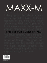 MAXX-M Magazine Cover November–December 2010