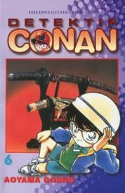 Cover Detektif Conan 06 oleh Gosho Aoyama