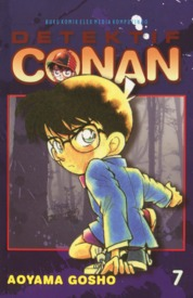 Cover Detektif Conan 07 oleh Gosho Aoyama