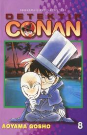 Cover Detektif Conan 08 oleh Gosho Aoyama
