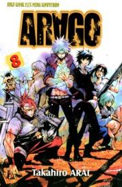 Cover Arago 08 oleh Takahiro Arai