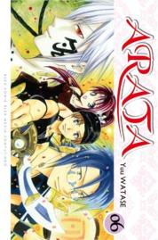 Cover Arata 06 oleh Yuu Watase