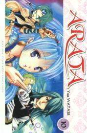 Arata 10 by Yuu Watase Cover