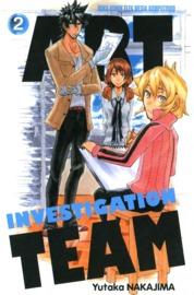 Cover Art Investigation Team 02 oleh Yutaka Nakajima