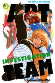 Cover Art Investigation Team 03 oleh Yutaka Nakajima