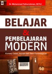 Cover Belajar dan Pembelajaran Modern oleh Muhammad Fathurrohman