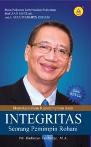 Cover Integritas Seorang Pemimpin Rohani oleh Pdt. Budisatyo Tanihardjo, M. A