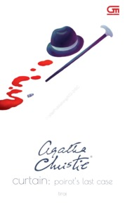 Cover Tirai (Curtain) oleh Agatha Christie