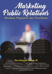 Marketing Public Relations - Diantara Penjualan dan Pencitraan by Dini Salmiyah Fithrah Ali Cover