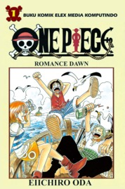 One Piece 01 by Eiichiro Oda Cover