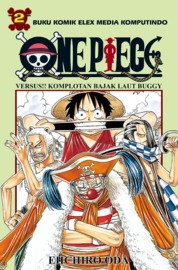 One Piece 02 by Eiichiro Oda Cover