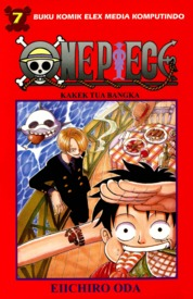 One Piece 07 by Eiichiro Oda Cover