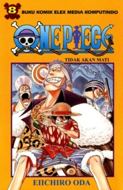 One Piece 08 by Eiichiro Oda Cover