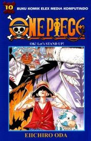 One Piece 10 by Eiichiro Oda Cover