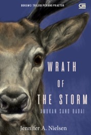 Cover Praetor War#3: Amukan sang Badai (Wrath of the Storm) oleh Jennifer A. Nielsen