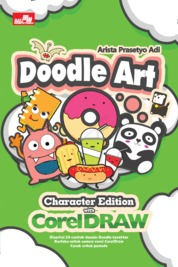 Doodle Art Character Edition with CorelDraw by Arista Prasetyo Adi Cover