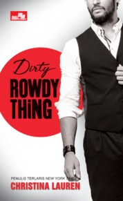 CR: Dirty Rowdy Thing by Christina Lauren Cover