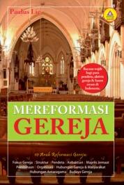 Cover Mereformasi Gereja oleh Paulus Lie