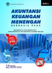 Cover Akuntansi Keuangan Menengah Berbasis PSAK Buku 1 oleh Dwi Martani, Sylvia Veronica NPS