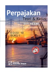 Perpajakan: Teori dan Kasus Edisi ke-10 Buku 1 by Siti Resmi Cover