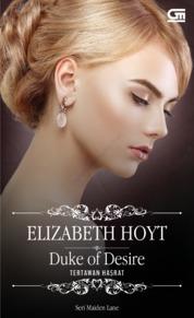 Cover Historical Romance: Tertawan Hasrat (Duke of Desire) oleh Elizabeth Hoyt