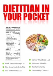 Cover Dietitian in Your Pocket oleh Moch. Zaenal Muttaqin, dkk
