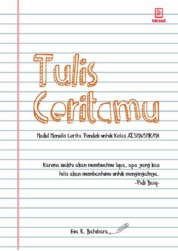 Tulis Ceritamu by Eva R. Batubara Cover
