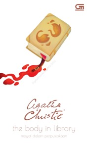Cover Mayat dalam Perpustakaan (The Body in the Library) oleh Agatha Christie