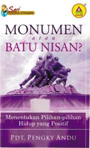 Monumen Atau Batu Nisan by Pdt. Pengky Andu Cover
