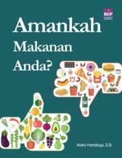 Cover Amankah Makanan Anda? oleh Koko Handoyo, S.Si