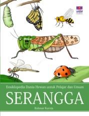 Cover Ensiklopedia Dunia Hewan untuk Pelajar dan Umum : Serangga oleh Rohmat Kurnia